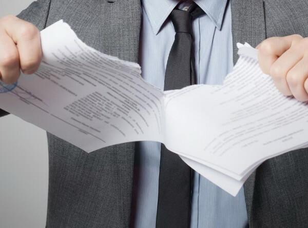 Расторжение договора с банком